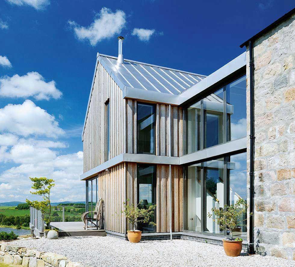 Double-height Velfac glazing   Sutton Farmhouse   Pinterest