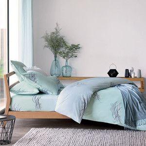 Olivier Murmure Duvet Cover Bleu King Bed