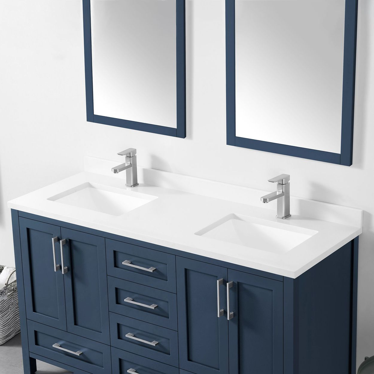 "Lourdes 60"" Bath Vanity by OVE in 2020 