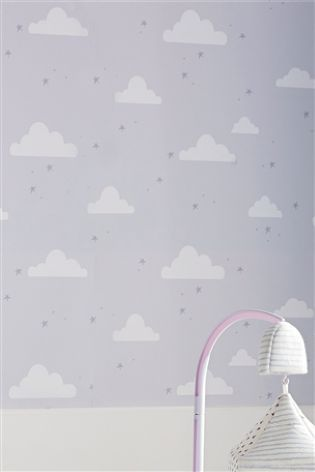 Next Clouds Wallpaper Baby 2 Nursery