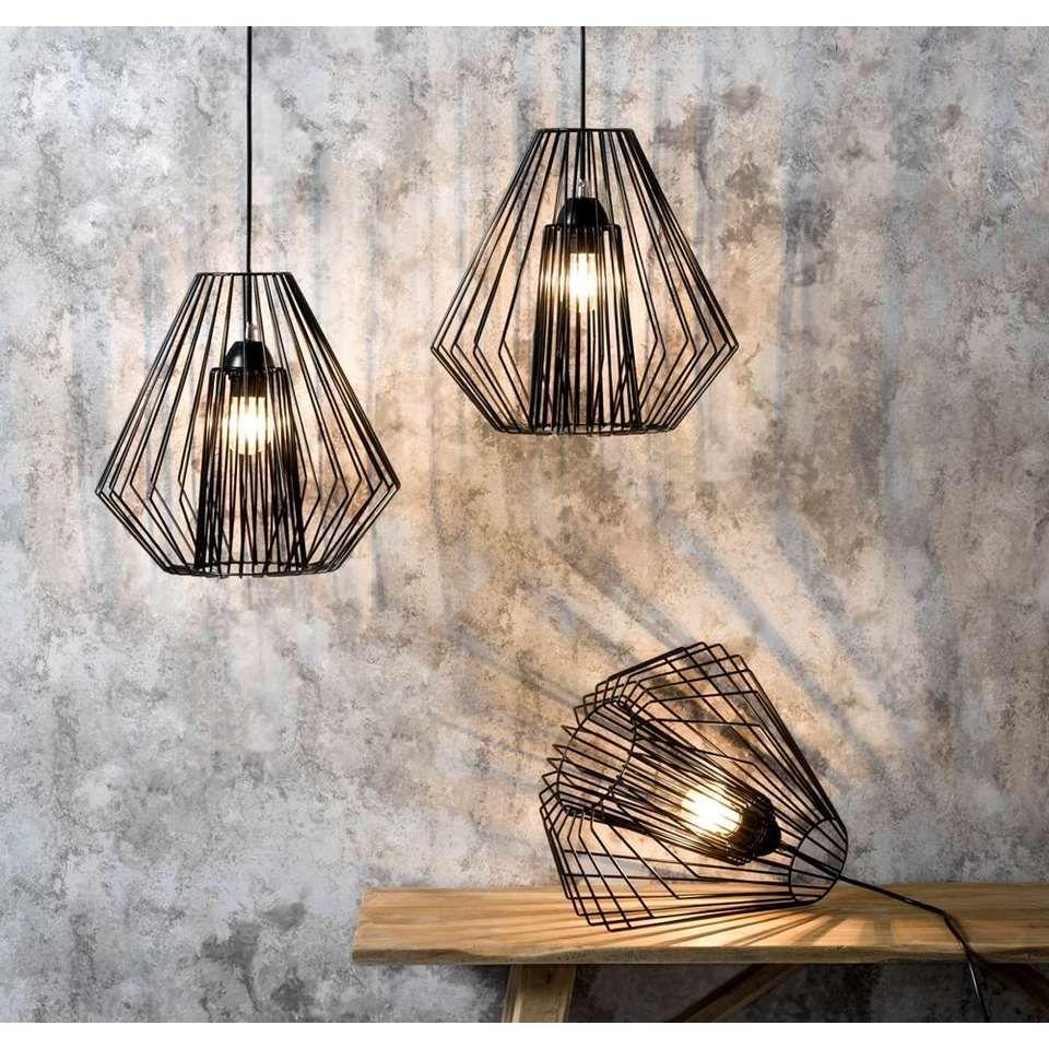 hanglamp julia zwart 35x28 cm leen bakker neue wohnung