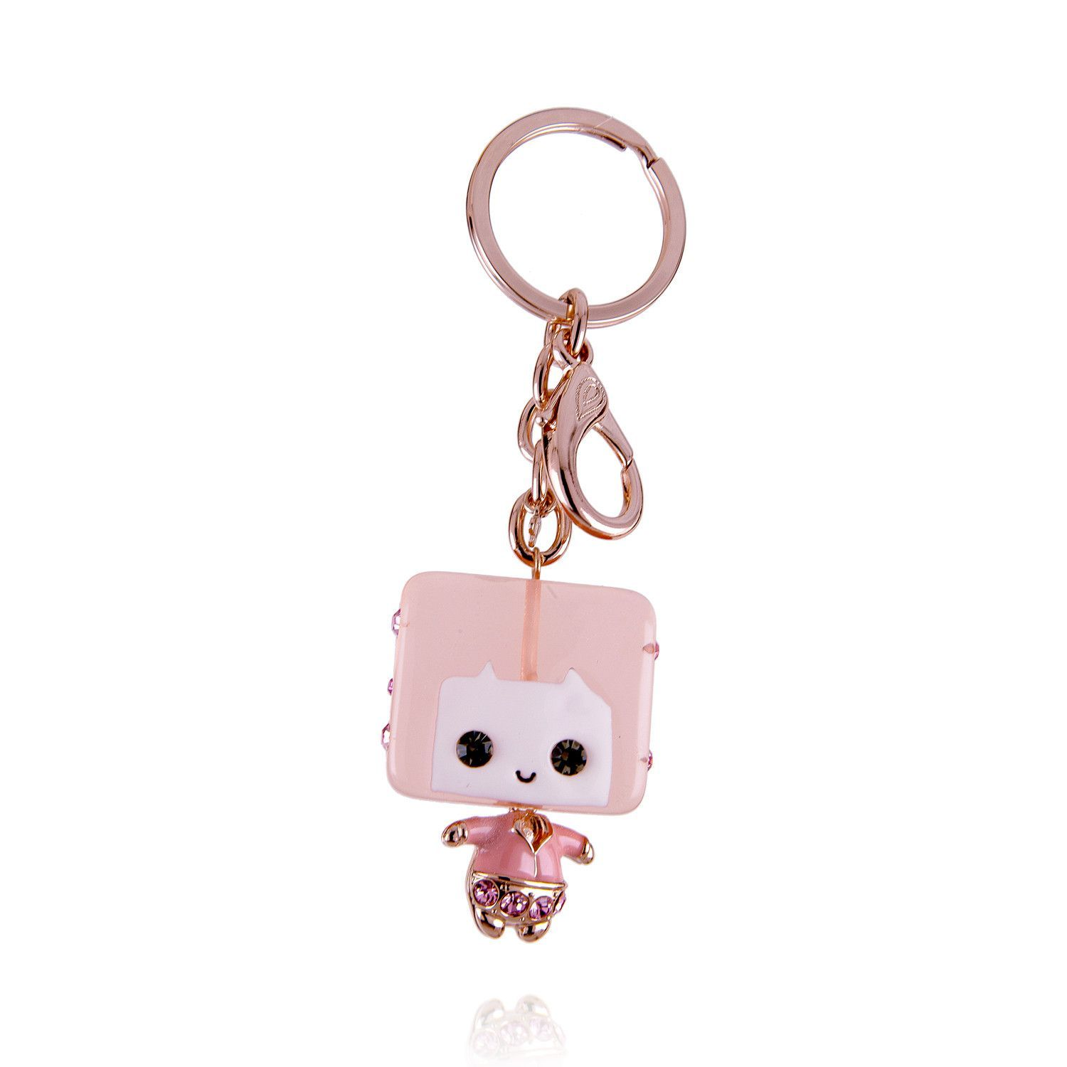 Miss Sweet Candy with Austrian Crystal Keychain