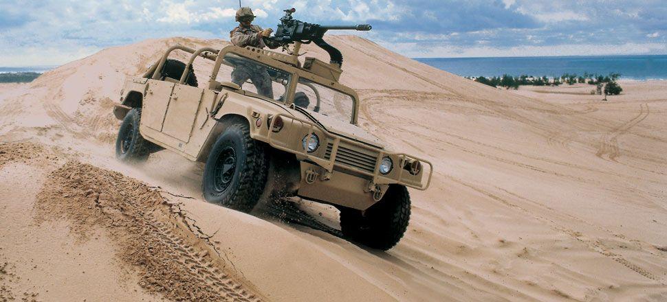 HMMWV in sand | 4x4 | Pinterest | 4x4