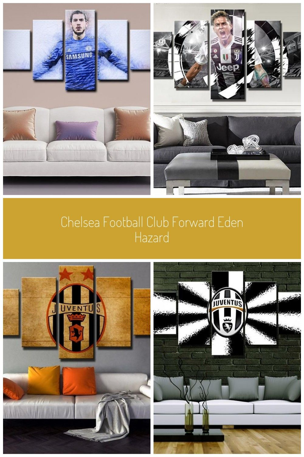 Buy Chelsea Eden Hazard player football art canvas from
