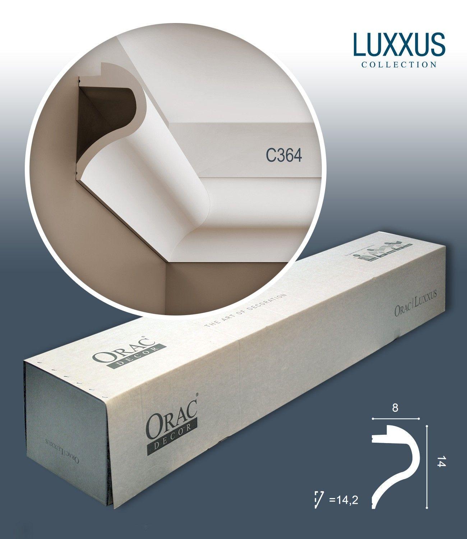 Orac Decor C364 Luxxus 1 Karton Set Mit 7 Stuckleisten 14 M Profhome Shop Stuckleisten Zierleiste Zierleisten