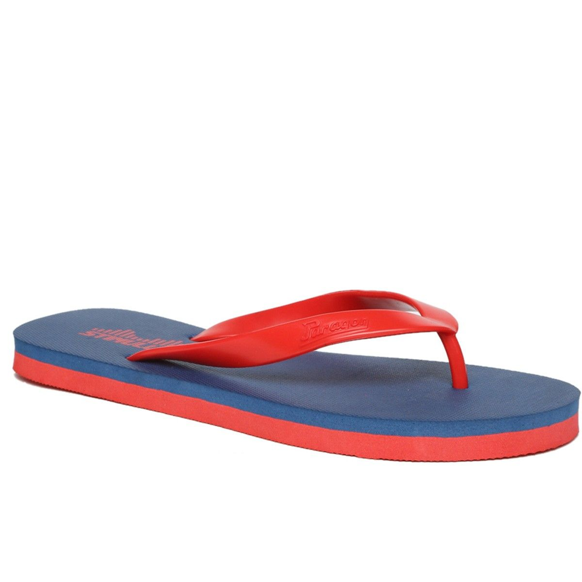 165d340c13c8 Buy Paragon Stimulus 69 Men S Blue Flip Flops Online at Low prices in India  on Winsant