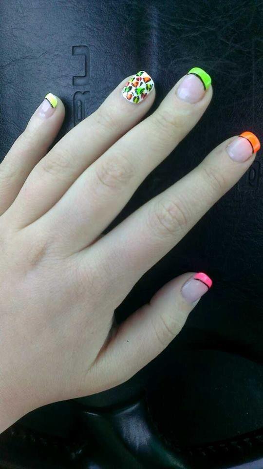 Dakota's nails this week - 4/16/2015