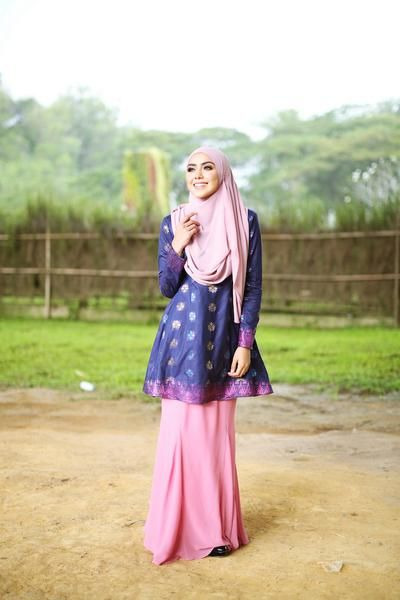 Zara Songket Navy Blue (Limited Edition)