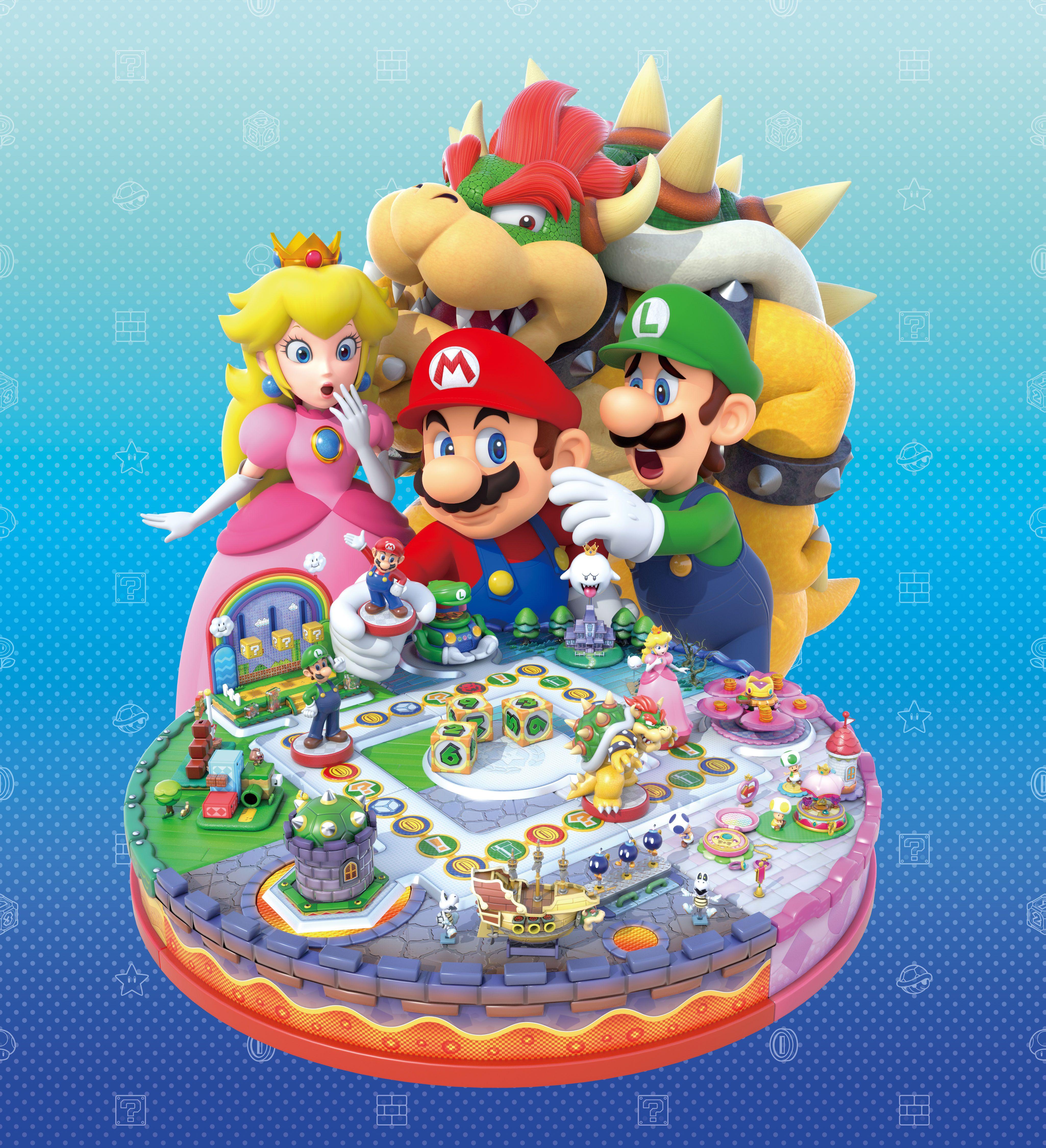 Amiibo Mario Party Mario Super Mario Bros