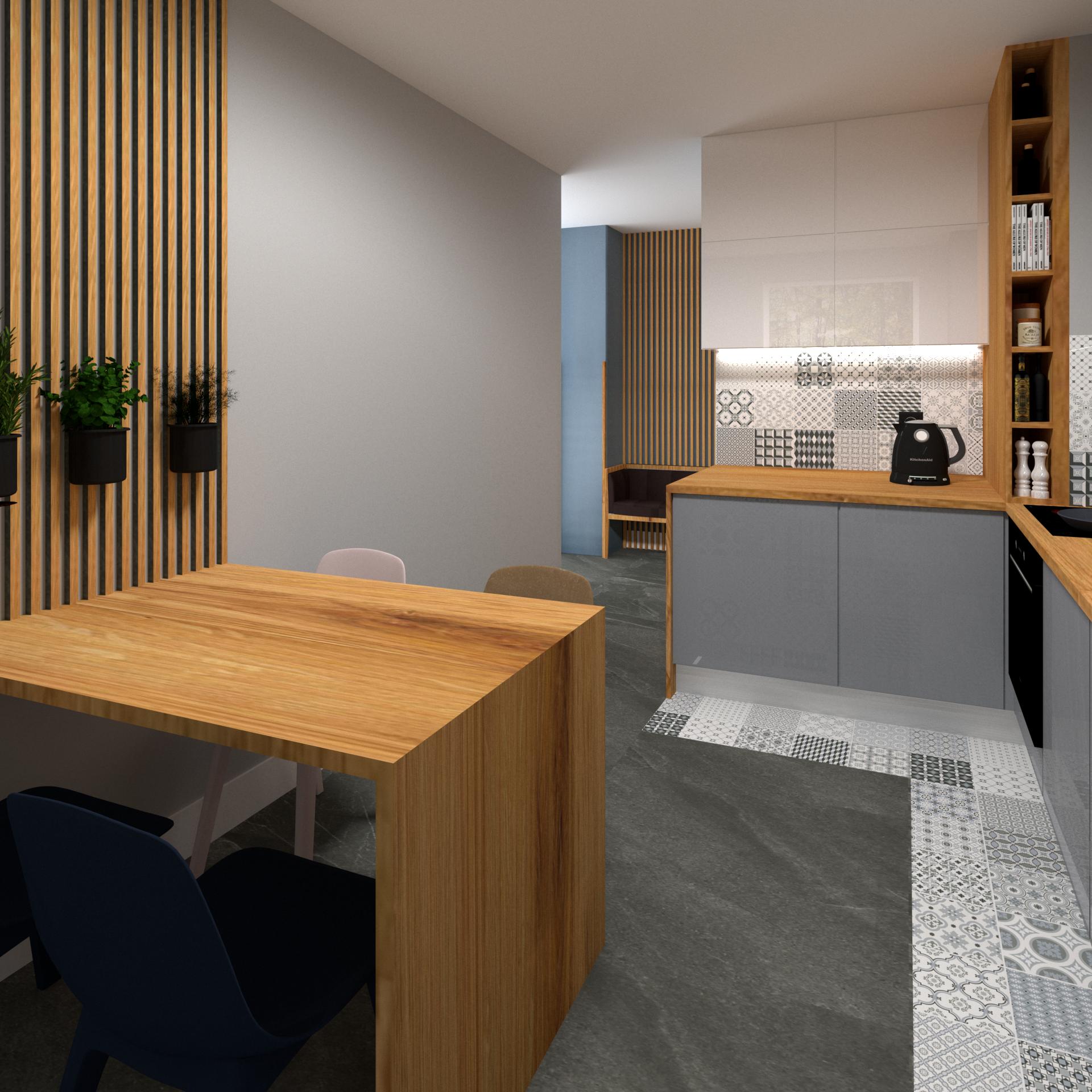 Rzadko Zdarza Sie Aby W Nowym Budownictwie Kuchnia Byla Wydzielona Jako Osobne Pomieszczenie Tutaj Bardzo Dobrze Doswietlona Przes Home Decor Room Furniture
