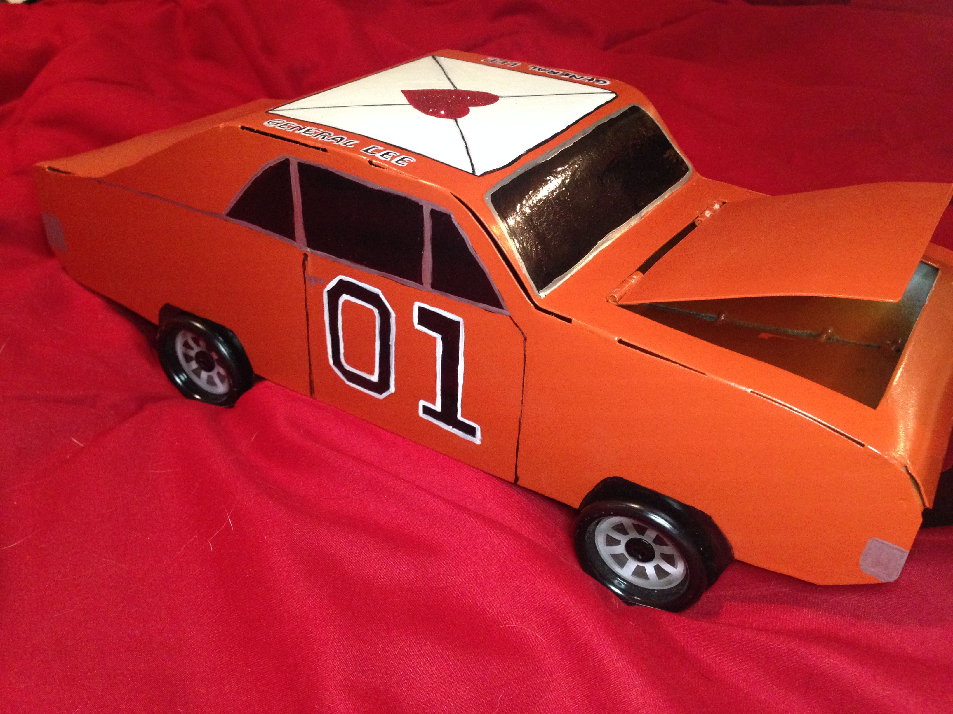 Dukes of Hazzard General Lee Valentine box by Cutest-little-things ...