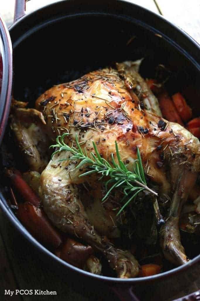 10 Best Low Carb Dutch Oven Recipes Dutch Oven Roast Chicken Oven Roasted Chicken Dutch Oven