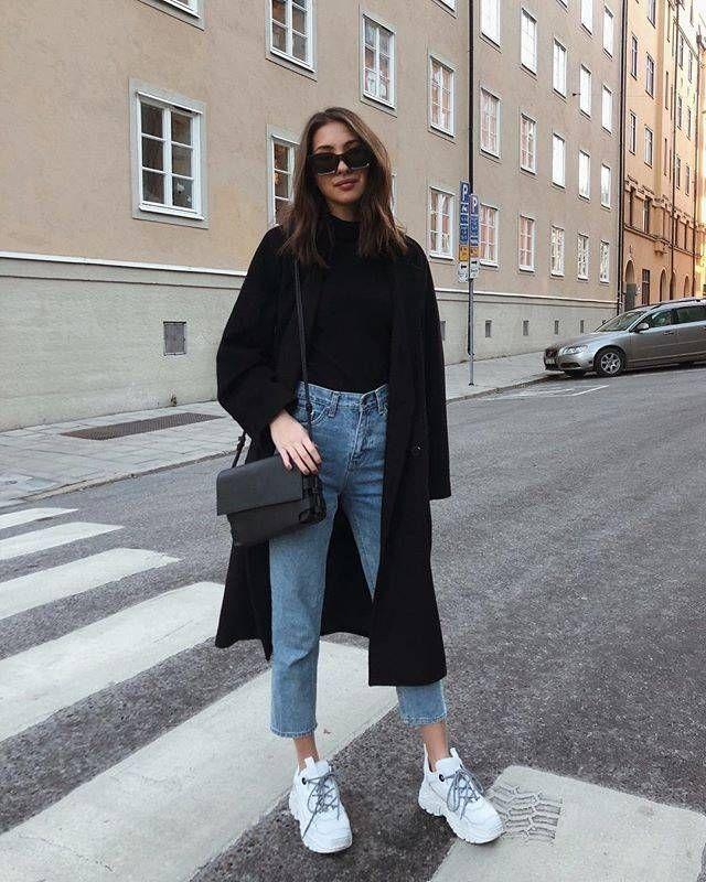Folgen Sie diesen Mode-Mädchen für eine minimalistische Stilstunde