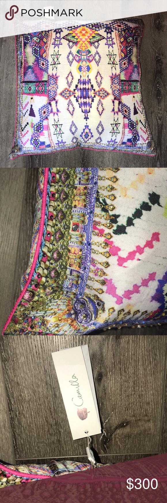 Camilla Mother Knows Best Silk Throw Pillow Silk Throw Pillows Throw Pillows Mother Knows Best