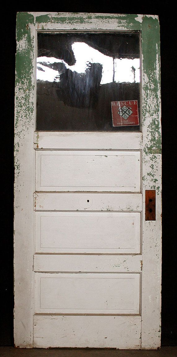 32x78 Antique Victorian Pine Exterior Entry By Pennantiquerestore