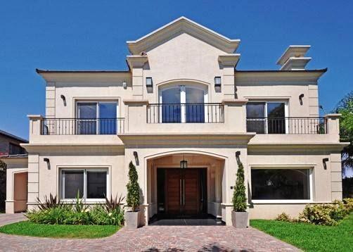 Clasica racionalista casas todos los estilos for Casas modernas clasicas