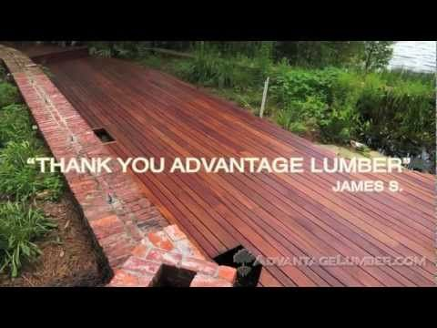 Discover the Natural Beauty of Advantage Tigerwood Decking