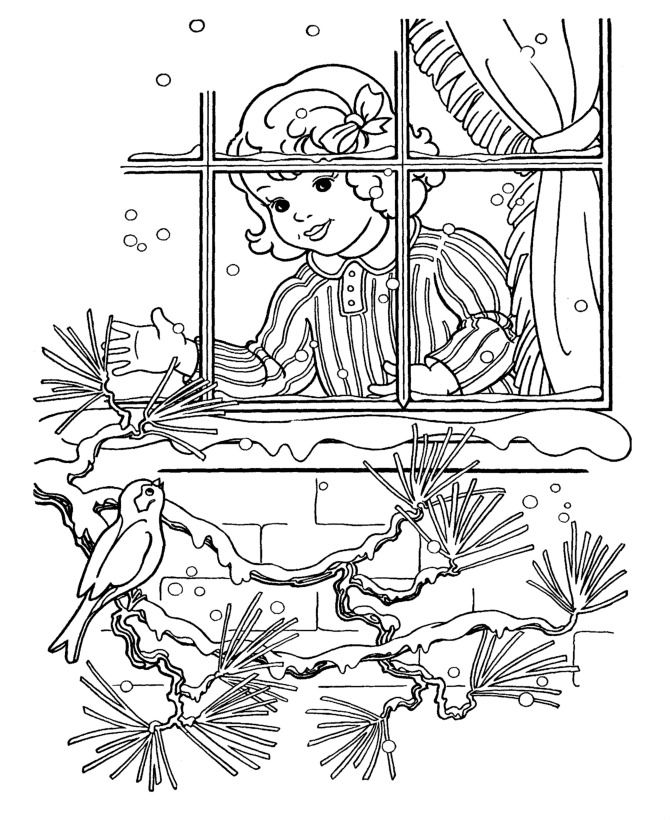 Coloring Page Christmas Coloring Pages