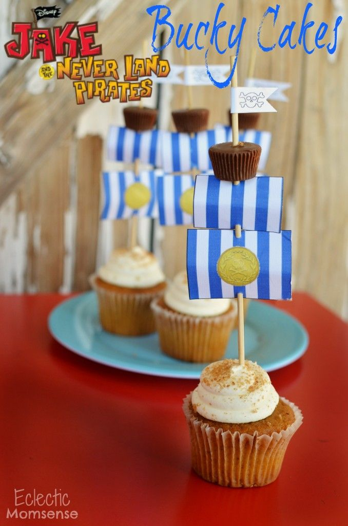 Bucky Cupcakes- Delicious cupcakes transform into Jake and the ...