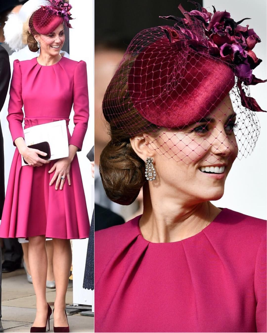 Wedding decorations red and black october 2018 New  The Duchess of Cambridge at todayus wedding of Princess