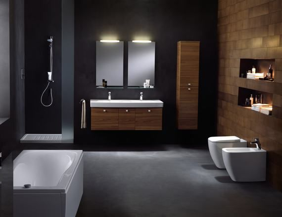 inspiratie, inspiration, badkamer, bathroom, idea, tips ...