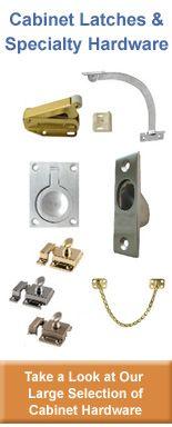 Beau Pivot Door Slides   CABINET HINGES | HardwareSource.com