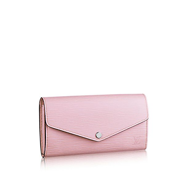 d44f21f72213f LOUIS VUITTON - €570.00 Epi Sarah Wallet - Small leather goods - With hot  stamping