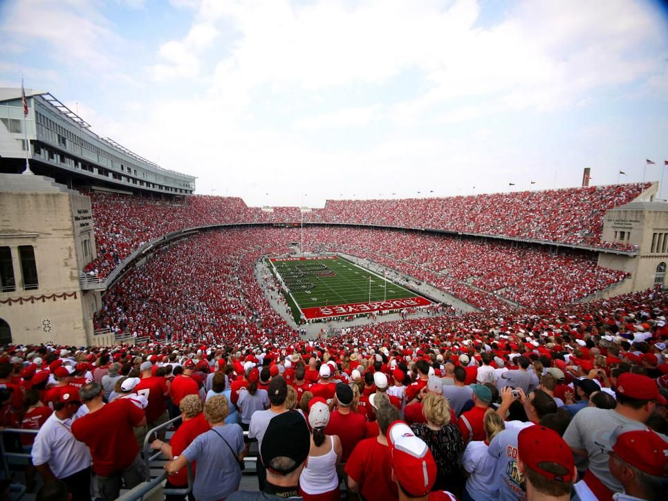 Ohio stadium the horseshoe ohio state buckeyes ohio