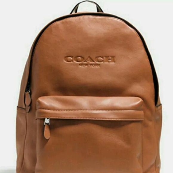 34be28a8d318 New with Tags Coach Campus Back Pack Tan leather coach back pack Coach Bags  Backpacks
