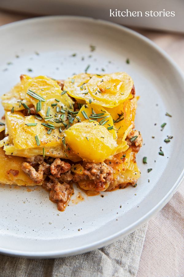 Kartoffel-Hack-Gratin | Rezept | Kitchen Stories