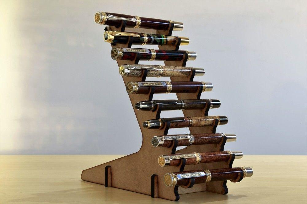 10 Pen Display Stand Pens