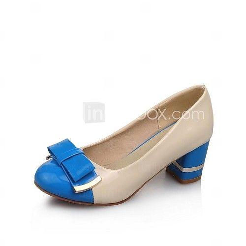 Zapatos azules de verano de punta redonda casual para mujer MazHP