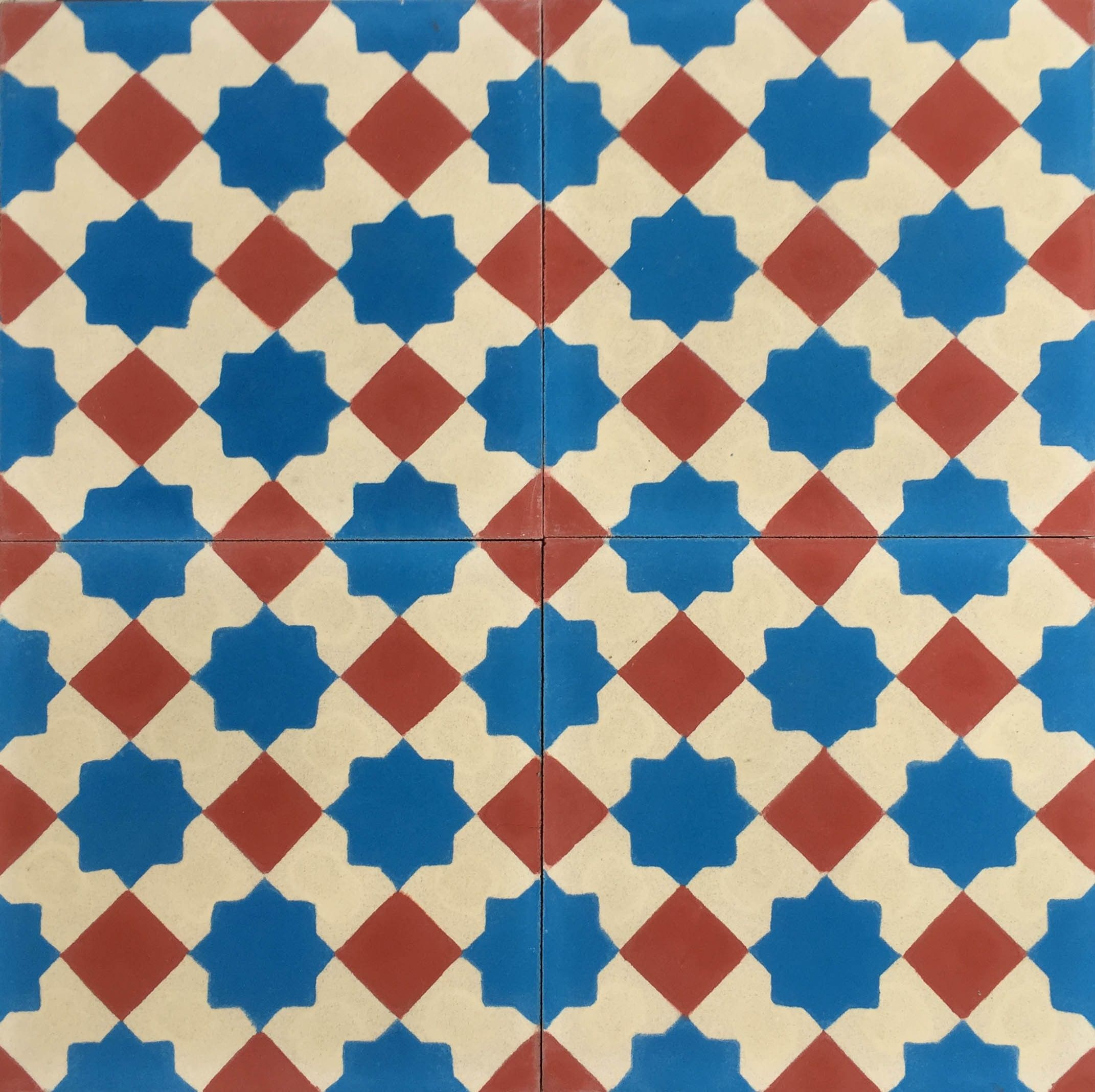 This original Moorish star pattern has stood the test of time and is ...