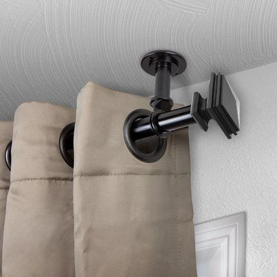 Darby Home Co Aman Single Curtain Rod Size 160 240 L Colour