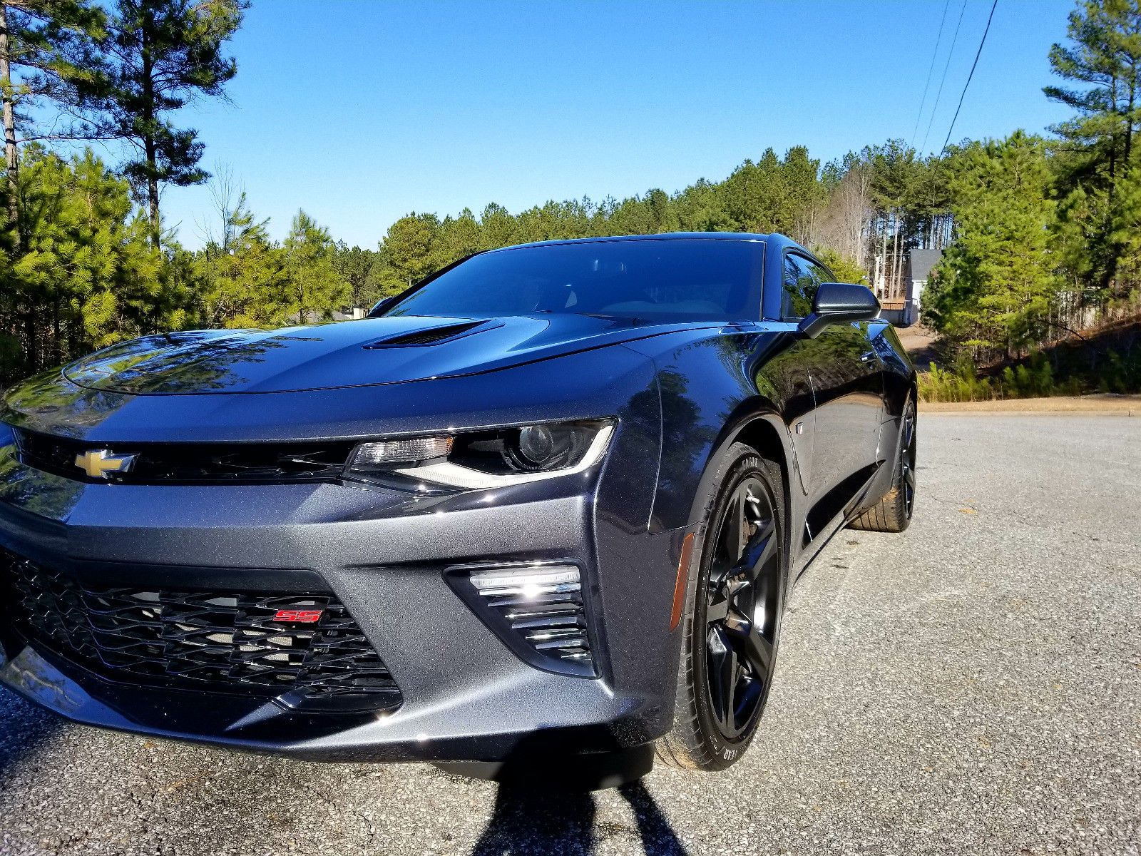 Nice Awesome 2016 Chevrolet Camaro 1ss Ss 6 Sd Modified 2017 2018