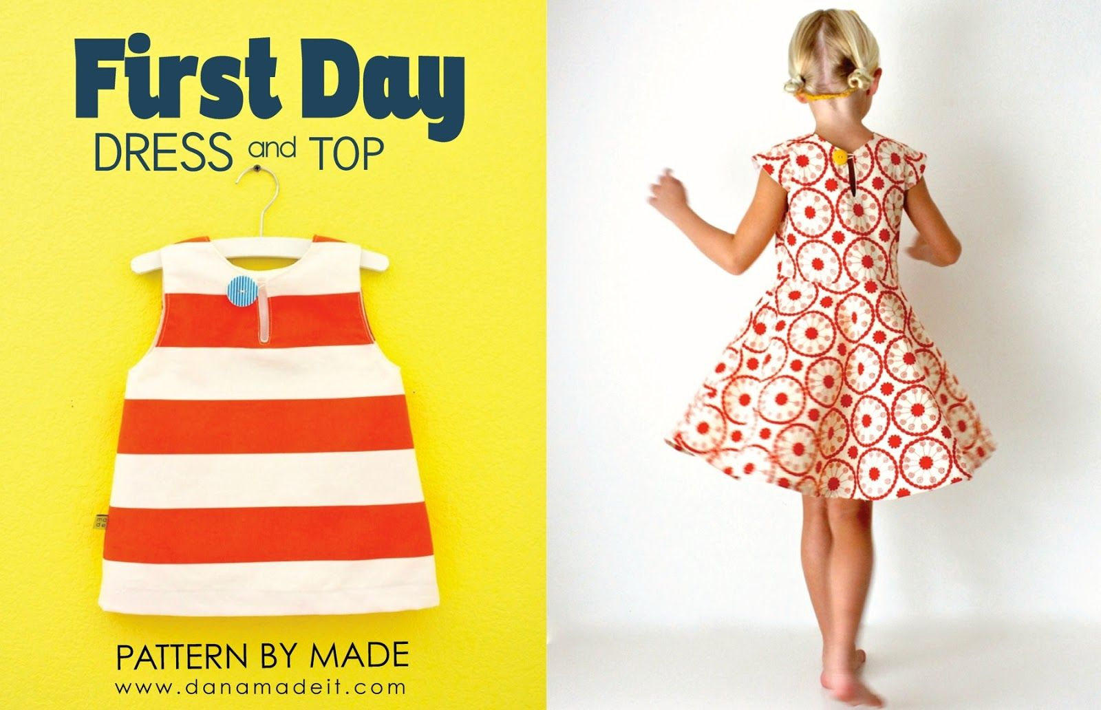 the First Day Dress Pattern is HERE! | MADE | Sewing: Penny clothes ...