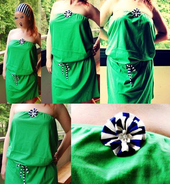 T-paidasta mekko