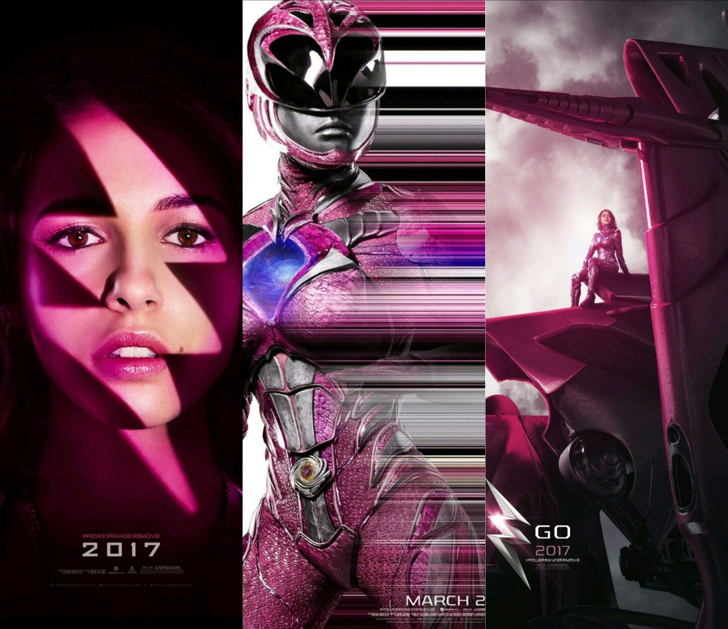 Pink Power Ranger (2017) | Power rangers | Pinterest | Bote ...