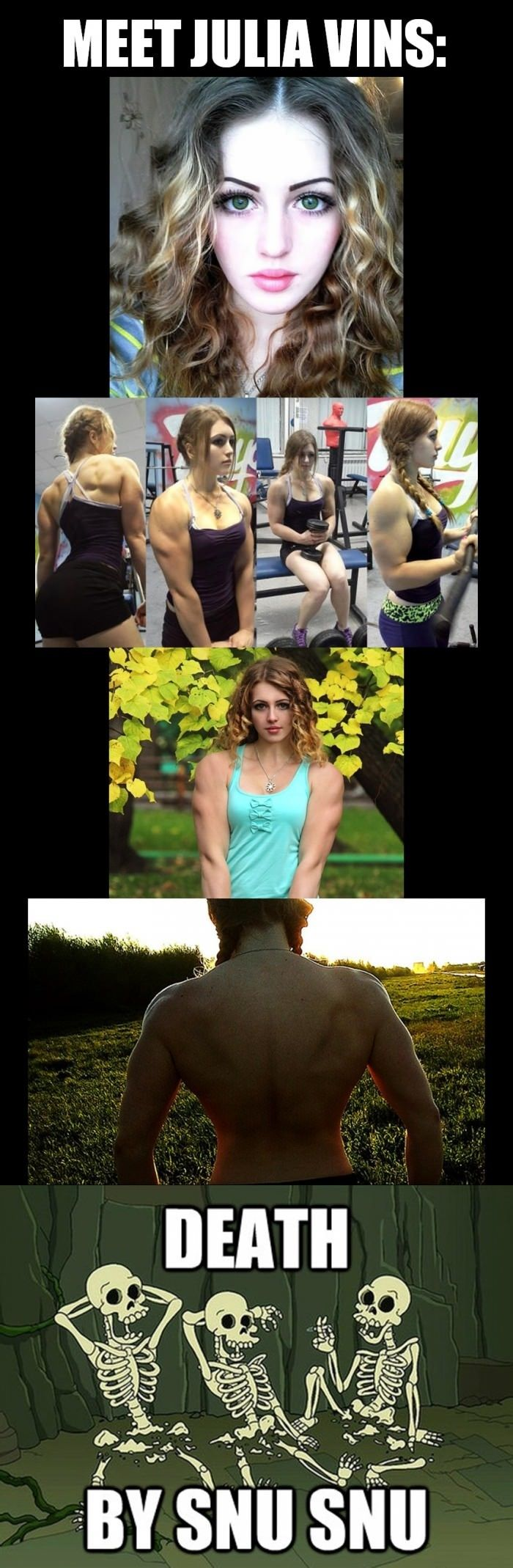 Julia Vins   Getting Fit   Funny pictures, Best funny