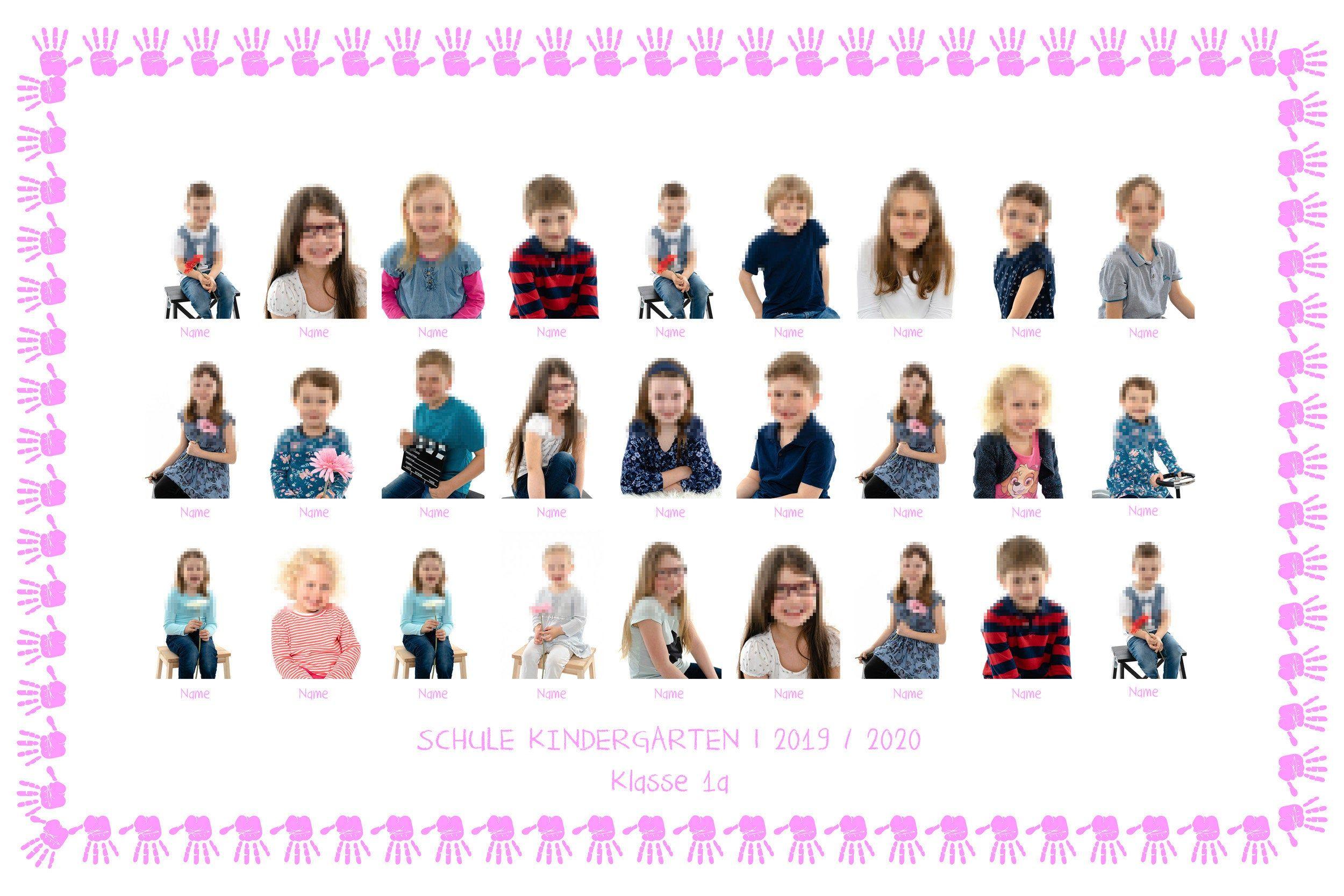 Pin On Kindergarten Schule Gruppenfoto Klassenspiegel