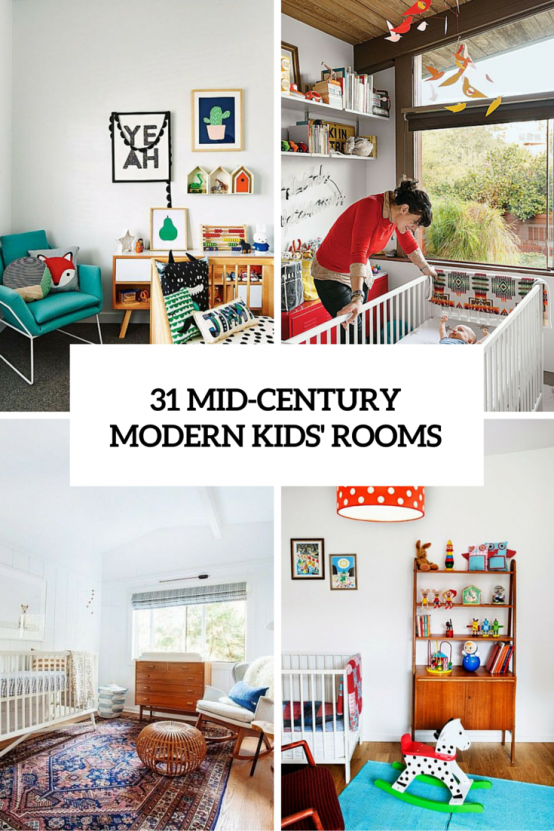 Charmant 31 Cute Mid Century Modern Kidsu0027 Rooms Décor Ideas    Http://www.interiordesignnewideas.com/31 Cute Mid Century Modern Kids Rooms  Decor Ideas.html