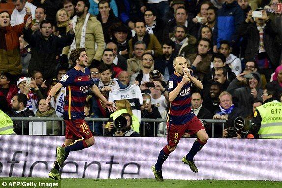 EL CLASICO Real Madrid vs Barcelona 0-4 score: Neymar, Cristiano Ronaldo, Luis Suarez, Gareth Bale and more   Daily Mail Online