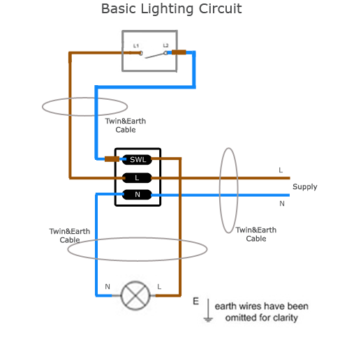 Simple Light Wire Diagram
