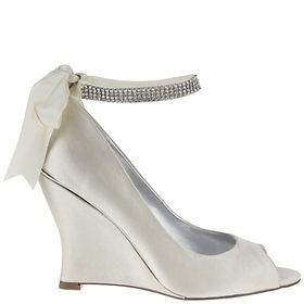 Wedding Shoes Bridal Pumps Sandals Wedge By Nina Tps