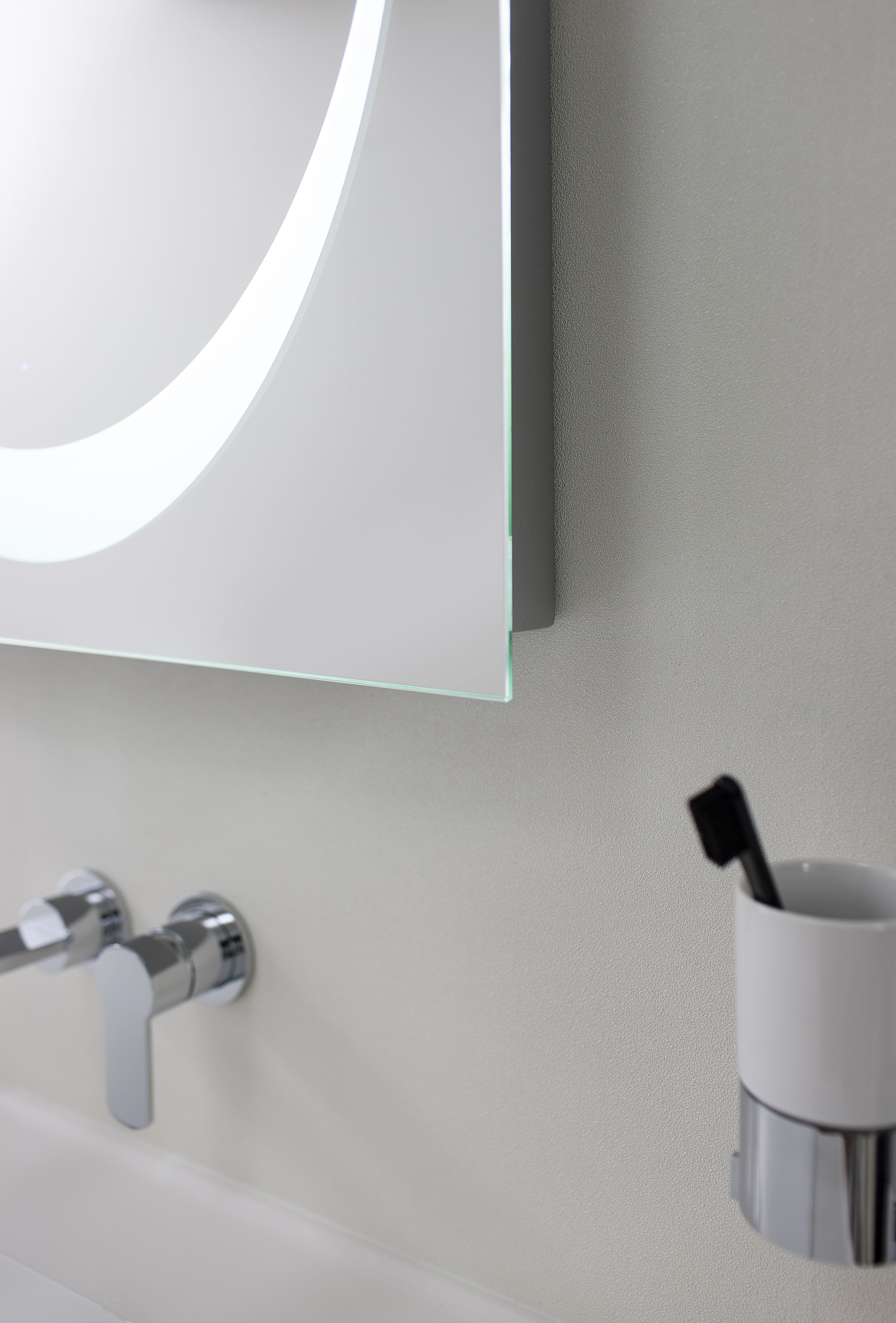 Revive LED Bluetooth Mirror from Crosswater. http://www.bauhaus ...