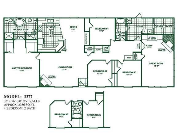 I D Love This House Mobile Home Floor Plans New House Plans Barn House Plans