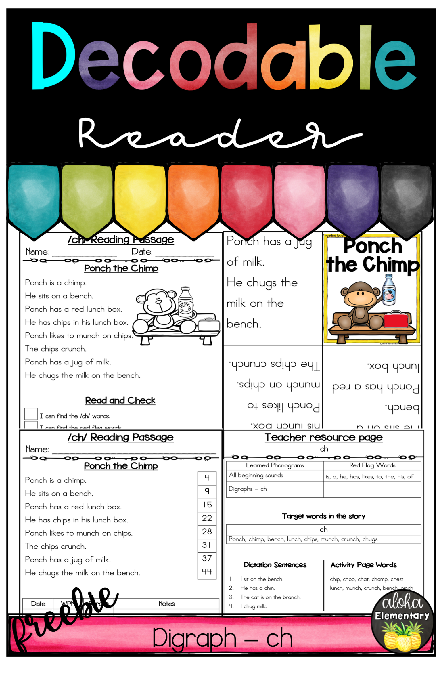 Decodable Reader Digraphs Ch