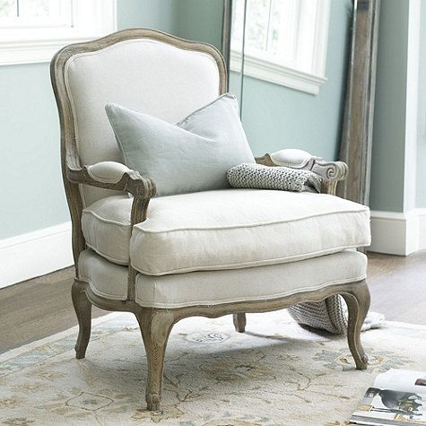 Louisa Bergere Chair | Living rooms, Master bedroom and Room