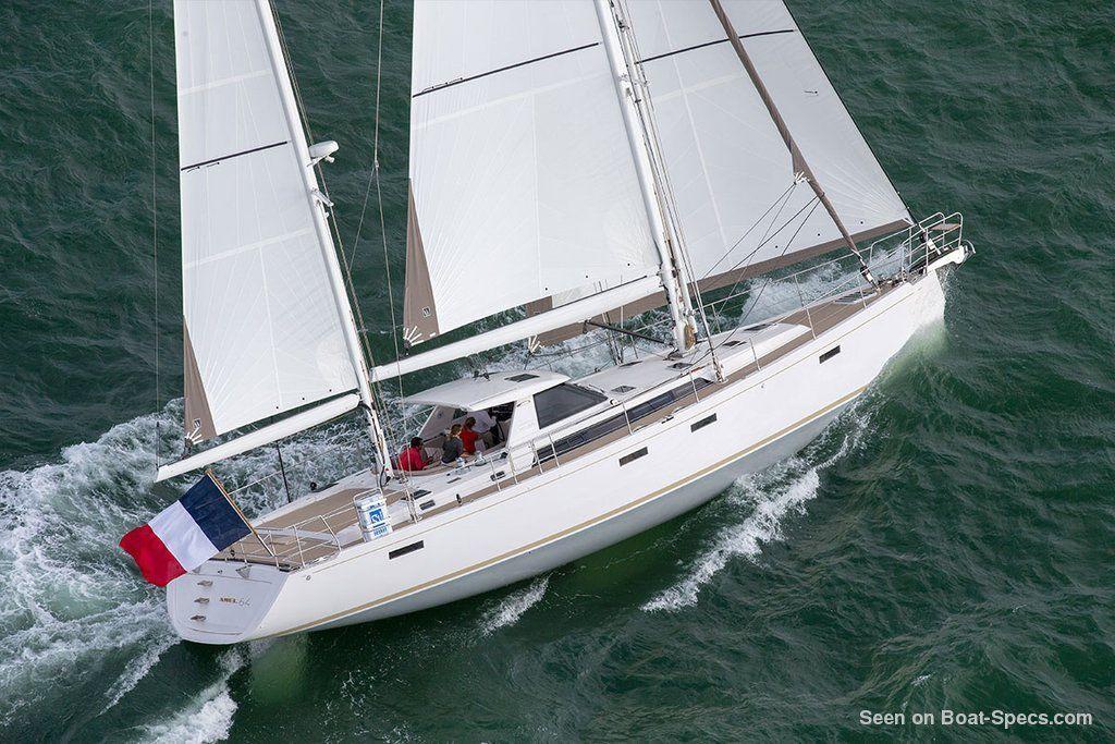 Amel 64 sailing