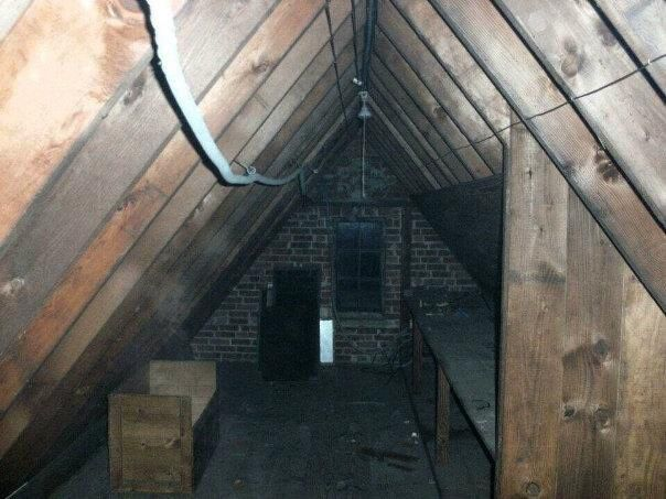 Ghost Photo Of The Day The Attic Dweller With Images Ghost Photos Ghost Pictures Creepy Ghost
